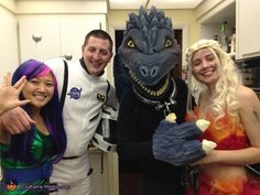 Khaleesi Dragon - Halloween Costume Contest via @costume_works