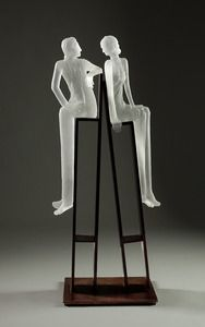 Steve Clements and Leah Wingfield -  glass art
