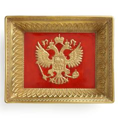 This exceptional porcelain vide poche is a luxurious homage to Russia. The central, bas-relief decoration is the Russian coat of arms and depicts the. Imperial Eagle, Vide Poche, Red Background, Coat Of Arms, Accent Decor, Special Gifts, Russia, Porcelain, Coral