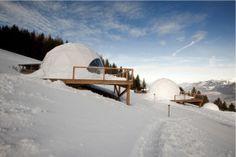 Eco design ad alta quota WhitePod Alpine Ski Resort