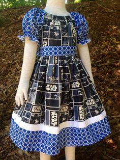 Star Wars Dress by levonadanielle on Etsy