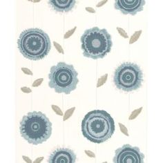 Graham & Brown 56 sq. ft. Radiance Teal Wallpaper-20-617 - The Home Depot