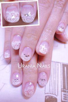Lace nails http://blog.urania.com.tw/?p=1085