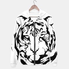 Wild Tiger - Sudadera con capucha/Hoodie - Cómprala aquí/Buy it here - https://liveheroes.com/es/product/show/152220 - Varias tallas/Some sizes