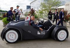 3D Printed Car Reaches 40mph With A Range Of 150 Miles