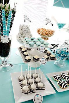 Zebra party theme