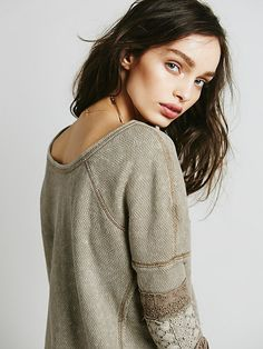 Free People Cuffed Tunic at Free People Clothing Boutique