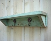 Handmade Wall Shelf - Shabby Cottage, Paris Apartment, French Country 17 inches long