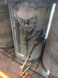 Bodegas Solar de Samaniego estrena un mural de Guido Van Helten