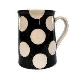 Black and White Doris : Black and White Doris Can Mug