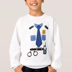 Policeman Halloween Costume tee Shirts Funny Gift