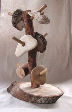 Natural tree stacker- Support hand-eye co-ordination and conceptual awareness whilst encouraging an appreciation of nature's gifts. Exclusive to Inspired EC ≈≈ Emilia emilia ideas classroom art Reggio Classroom, Toddler Classroom, Outdoor Classroom, Play Based Learning, Early Learning, Reggio Emilia, Outdoor Learning, Childhood Education, Waldorf Education
