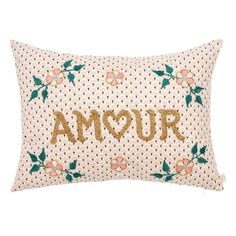 Décoration famille - blogzine Sunday Grenadine African Artists, Embroidered Cushions, Kids Prints, Artisanal, Decoration, Bellisima, Your Child, Bed Pillows, Branding Design