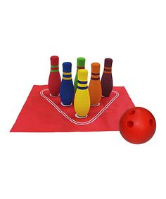 Look at this POOF My First Bowling Set on #zulily today!