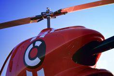 Helicopter Cicaré 8.  Sentidos design - Indalecio Sabbioni