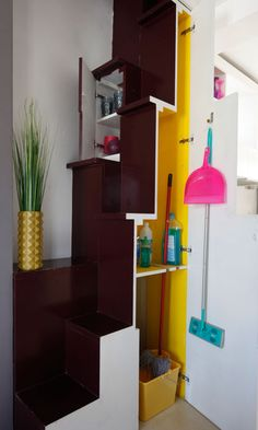 10 astuces de rangements malins rangement maison pinterest astuce de rangement. Black Bedroom Furniture Sets. Home Design Ideas