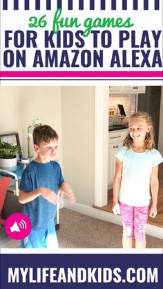 26 Games Kids Can Play with Alexa - My Life and Kids Games To Play With Kids, Games For Toddlers, Kid Games, Alexa Dot, Alexa Alexa, Amazon Alexa Echo Dot, Amazon Echo Hacks, Alexa Commands, Amazon Alexa Skills