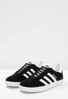 b9509135b3 adidas Gazelle OG W (Core Black   FTWR White   Gold Metallic)