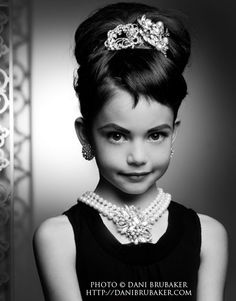 child audrey hepburn clothes | Mackenzie Foy Poses in Audrey Hepburn Style Shoot
