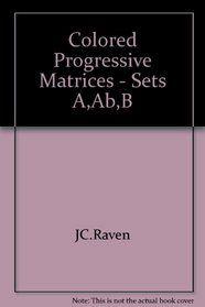 raven progressive matrices - Google Search