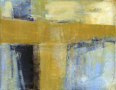 Original abstract painting mid century art by VictoriaKloch