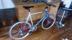 Ehemaliges Triathlon Fahrrad aus den 80zigern von Quintana ROO. Umbau auf Citybike Klassiker mit...,Rennrad Quintana ROO Superform Klassiker in Remscheid - Remscheid