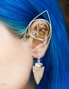 Elven/Elf Ear Cuffs/Wraps  Elven ArcherSilver by ElvenAdornments, $28.00