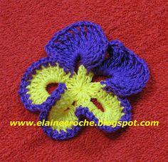 Quem acompanha o nosso blog a muito tempo sabe que já mostrei a vídeo aula da Flor Amor Perfeito em Crochê. Foi em janeiro de 2007 e a posta...