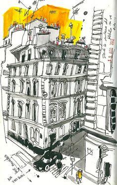 Inma Serrano From the window. Paris. by inmaserranito, via Flickr