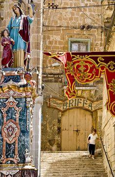 Vittoriosa village feast. #Malta #malta #island #reisjunk #travel #world #explore www.reisjunk.nl