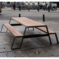 Baby Furniture Sets, Urban Furniture, Street Furniture, Metal Furniture, Garden Furniture, Furniture Design, Metal Picnic Tables, Diy Picnic Table, African Furniture