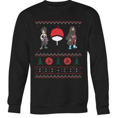 Naruto - Sasuke Itachi Ugly Sweater - Unisex Sweatshirt T Shirt - SSID2016