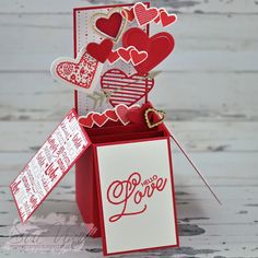 Miss Pinks Craft Spot: Sealed With Love   #WWYS101
