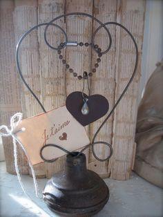 Vintage Door Knob Inspiration Holder - Photo Holder - Place Card Holder