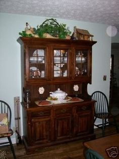 China Cabinet Sears Open Hearth 12 09 2006 CabinetsHearthDining Room