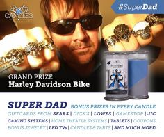 Super dad candle get at www.jewelryincandles.com/store/annfries
