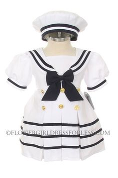 I will find an occasion! Girls Style ML602 - Short Sleeve Sailor Dress size, $28.99