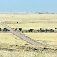 The long way round... Namib Naukluft Park, Namibia.