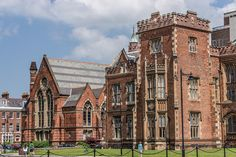 Queen's University Belfast: The centrepiece and the enduring symbol of Queen's University is the original building completed in 1849 and now known as the Lanyon Building after its architect, the renowned Sir Charles Lanyon.