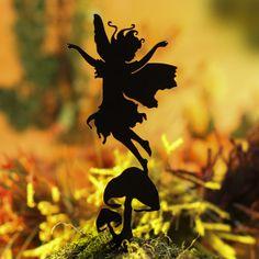 Flowerseed Fairy Garden Shadow Silhouette