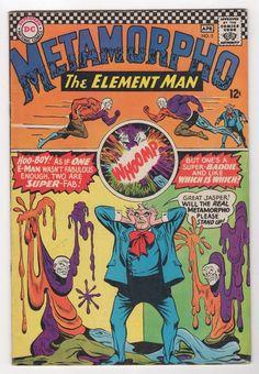 Metamorphic 5 1966 DC Comics VF   eBay