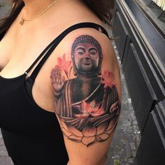 60+ Significant Buddha Tattoo Designs - Spiritual Way Check more at http://tattoo-journal.com/60-significant-buddha-tattoo-designs-spiritual-way/