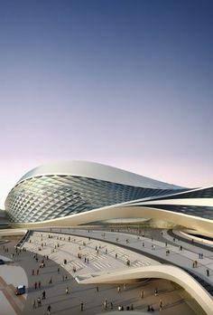 Chengdu Contemporary Art Center, Chengdu, China by Zaha Hadid Architects