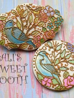 Secret Garden Cookies