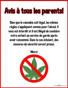 Warning Signs, Drugs, Parents, Medicine, Chart, Messages, Sayings, Day Care, Learning