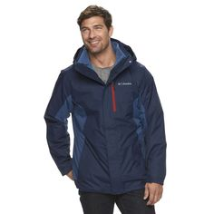 Best Deals $100 OFF Men's Columbia Rockaway Mountain Interchange Systems Jacket | KOHLS: Best Deals $100 OFF Mens Columbia Rockaway Mountain Interchange Systems Jacket | KOHLShttp://bit.ly/2gAt9it#TodayDeals #DailyDeals #DealoftheDay - Versatility required. Featuring a systems design with a separate fleece liner this mens Columbia jacket lets you adapt to the changing weather conditions. Read customer reviews and find more great deals on KOHLS today!http://bit.ly/2gAt9it…