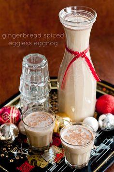 Cafe Johnsonia: Gingerbread Spiced Eggless Eggnog