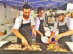 The prawns and scallops on the BBQ are in hot demand this arvo at the Apollo Bay Seafood Festival! by traveltalesblog