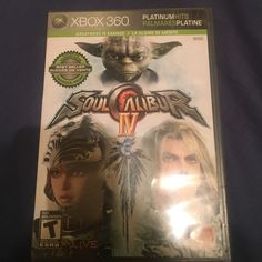Pre-Owned Soul Calibur IV Pre-owned Soul Calibur IV for Xbox 360 . Perfectly Good Condition . NO SCRATCHES . Other