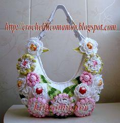 crocheted bag